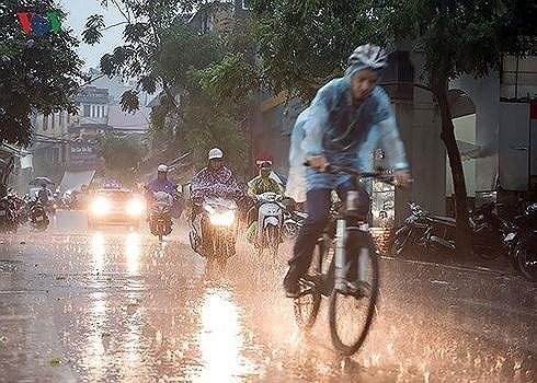 Không khí lạnh tràn về, Thanh Hóa - Thừa Thiên Huế có mưa vừa, mưa to, có nơi mưa rất to