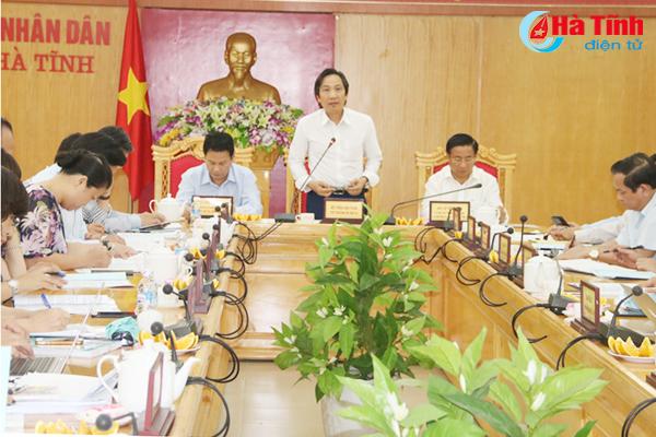 VIDEO: Sớm hoàn thiện đề án thành lập thị trấn Đồng Lộc để trình Chính phủ
