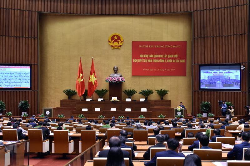 Hội nghị toàn quốc quán triệt Nghị quyết Trung ương 6