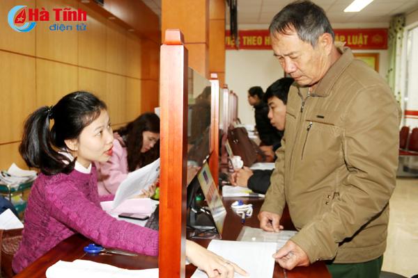 Bước đột phá về ứng dụng CNTT trong CCHC tại Hà Tĩnh