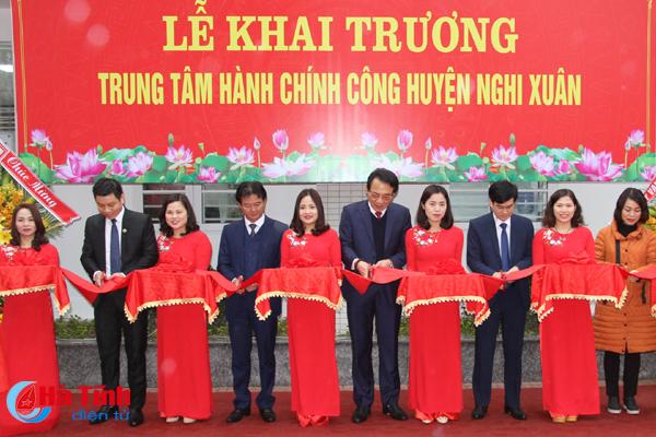 Khai trương Trung tâm Hành chính công huyện Nghi Xuân
