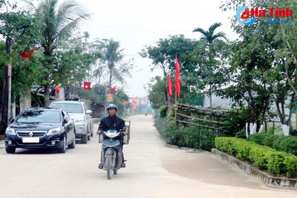 Hà Tĩnh công nhận thêm 33 xã đạt chuẩn nông thôn mới