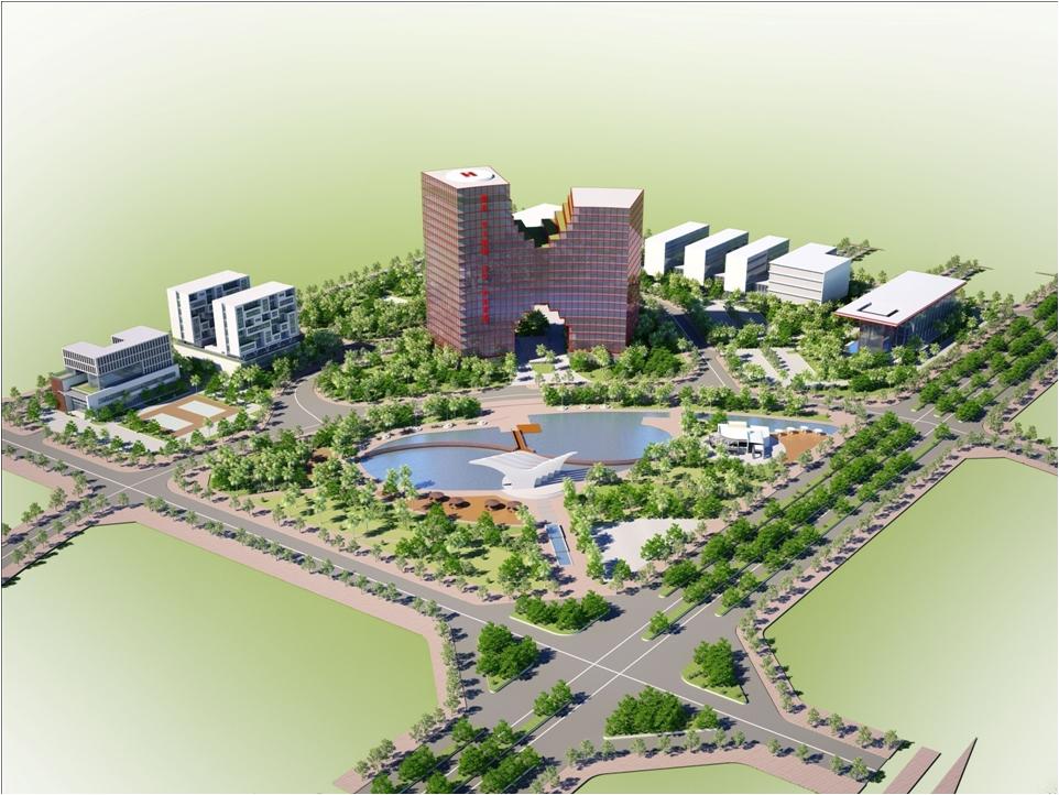 Phê duyệt Quy hoạch chi tiết xây dựng Khu CNTT tập trung Hà Tĩnh