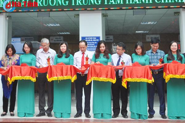Trung tâm Hành chính công TP Hà Tĩnh chính thức hoạt động