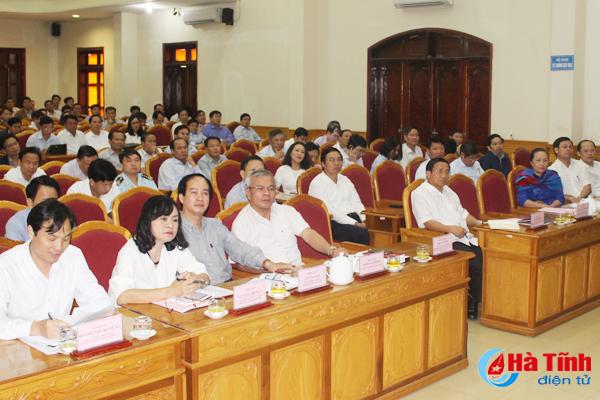 Ban Thường vụ Tỉnh ủy Hà Tĩnh quán triệt 2 Bộ luật quan trọng