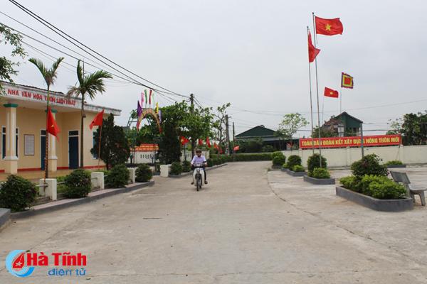 Tư duy mới - nền tảng xây dựng NTM kiểu mẫu ở Thạch Hạ