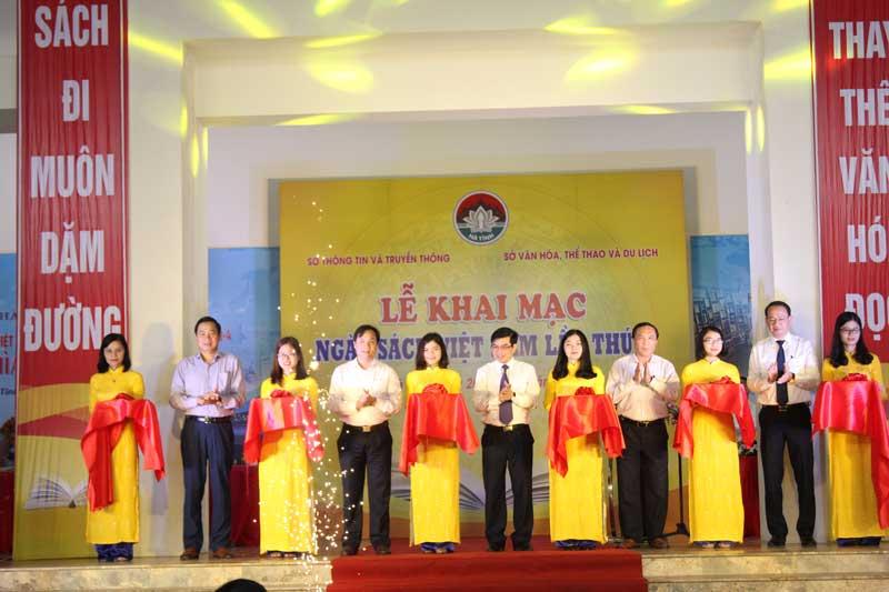 Khai mạc Ngày sách Việt Nam lần thứ 5 tại Hà Tĩnh