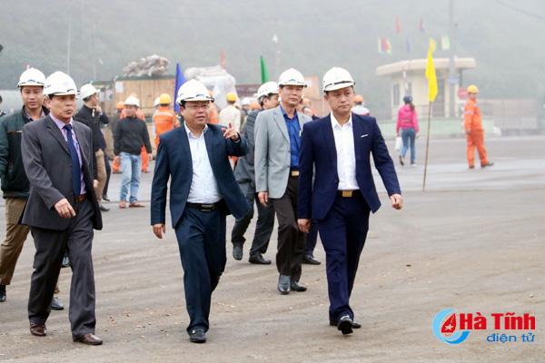 Hà Tĩnh luôn đồng hành, hỗ trợ DN phát triển trong KKT Vũng Áng