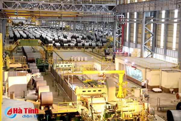 Công nghiệp Hà Tĩnh dẫn đầu cả nước về chỉ số tăng trưởng