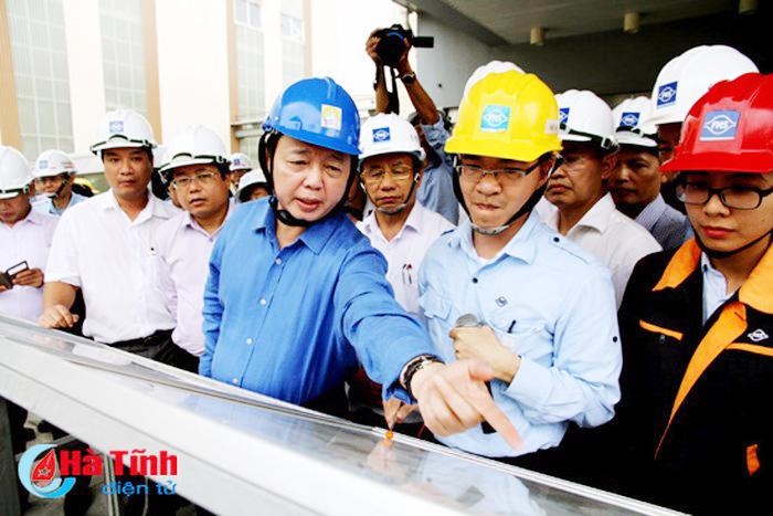 Bộ TN&MT thông tin việc không đưa Formosa Hà Tĩnh vào kế hoạch thanh tra năm 2018