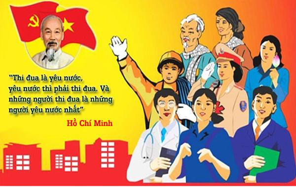 Đề cương tuyên truyền kỷ niệm 70 năm Ngày Chủ tịch Hồ Chí Minh ra Lời kêu gọi thi đua ái quốc