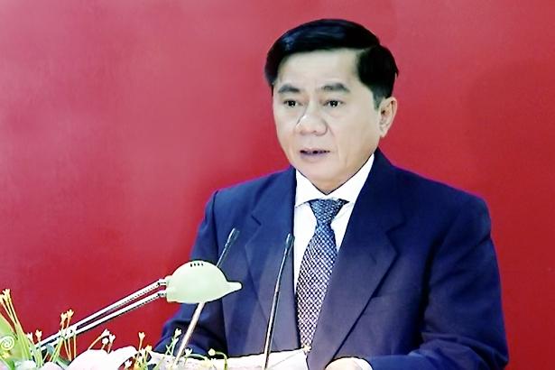 Ông Trần Cẩm Tú được bầu giữ chức Chủ nhiệm UBKT Trung ương