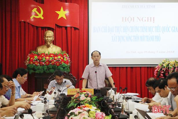 Phát huy sức mạnh toàn dân trong xây dựng NTM ở TP Hà Tĩnh