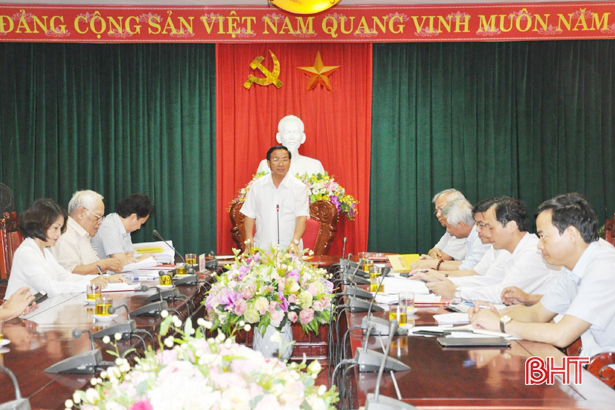 Thống nhất các hoạt động chuẩn bị đại lễ kỷ niệm 200 năm ngày mất Đại thi hào Nguyễn Du