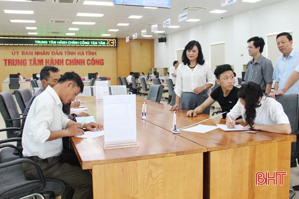 Hiệu quả hoạt động khẳng định tính đúng đắn việc thành lập trung tâm hành chính công