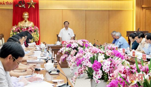 Bí thư Tỉnh ủy: Hành động mạnh hơn để nâng hạng đô thị TP Hà Tĩnh