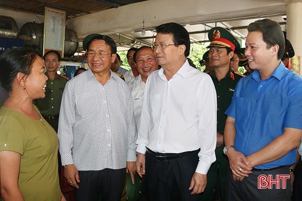 Phó Thủ tướng: Hà Tĩnh làm tốt bồi thường, hỗ trợ thiệt hại sự cố môi trường