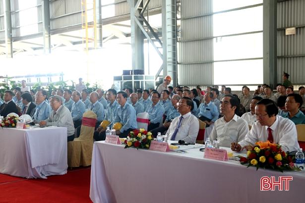Formosa Hà Tĩnh vận hành thử nghiệm Lò cao số 2