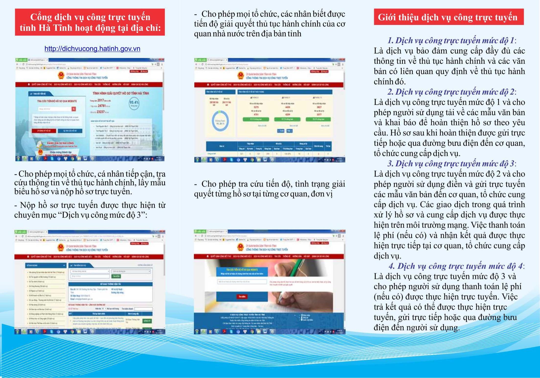 Tăng cường hiệu quả khai thác sử dụng dịch vụ công trực tuyến mức độ 3, mức độ 4 trên địa bàn tỉnh