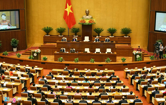 Hôm nay Quốc hội khai mạc kỳ họp thứ 5 khoá 14