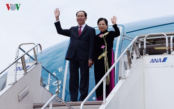 Toàn cảnh ngày đầu tiên Chủ tịch nước thăm cấp Nhà nước tới Nhật Bản