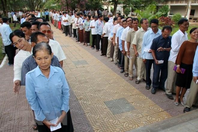 Campuchia bốc số thứ tự cho 20 chính đảng tham gia tổng tuyển cử