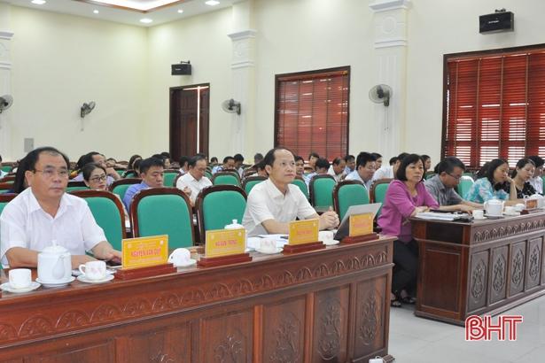 TP Hà Tĩnh phát triển nông nghiệp bền vững, TM&DV theo hướng hiện đại