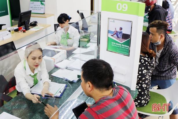 Hệ thống ngân hàng Hà Tĩnh huy động 44.742 tỷ đồng, dư nợ 39.824 tỷ đồng