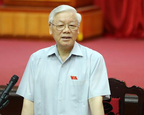 """Tổng Bí thư Nguyễn Phú Trọng: """"Sự thật đã bị xuyên tạc, lòng yêu nước bị lợi dụng"""""""