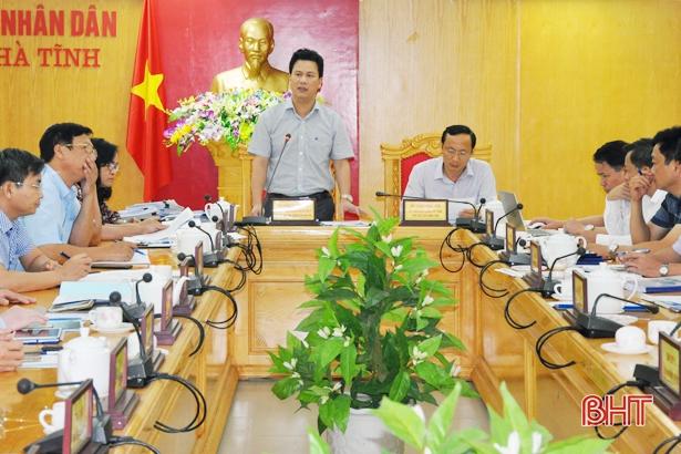 Sớm hoàn thiện quy hoạch tài nguyên nước, đa dạng sinh học ở Hà Tĩnh