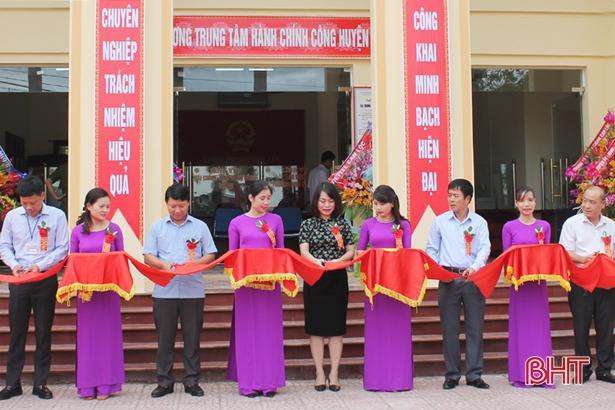 Khai trương Trung tâm Hành chính công huyện Can Lộc