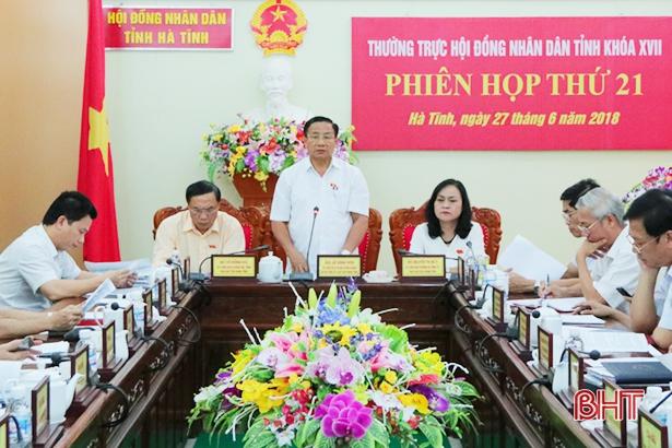 Kỳ họp thứ 7 HĐND tỉnh Hà Tĩnh khóa XVII dự kiến diễn ra từ 16-18/7