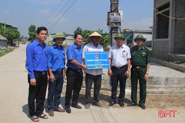 Hà Tĩnh: 28,58 tỷ đồng đỡ đầu các xã xây dựng NTM