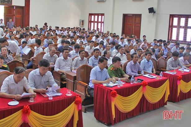Hương Sơn huy động gần 170 tỷ đồng xây dựng nông thôn mới