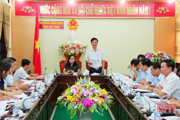 Tiếp tục hoàn thiện các báo cáo, tờ trình chuẩn bị kỳ họp thứ 7 HĐND tỉnh