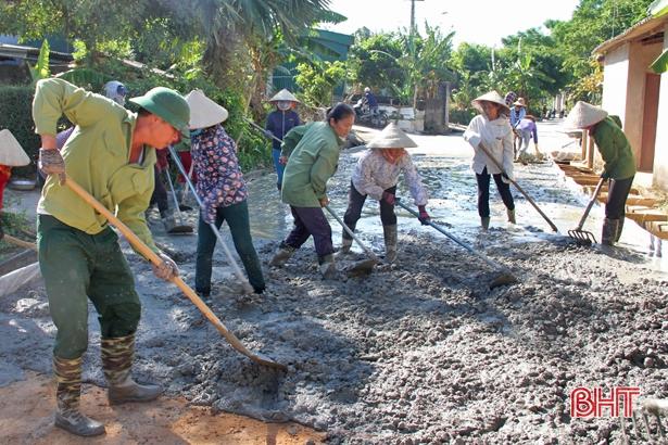 Xã biên giới Sơn Kim 1 hoàn thành các tiêu chí nông thôn mới kiểu mẫu