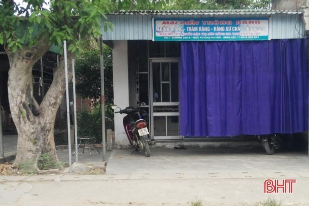 Đình chỉ 10 cơ sở hành nghề y, dược ngoài công lập ở Lộc Hà