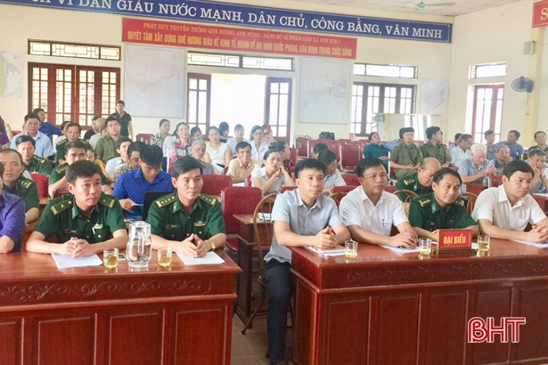 Người dân Sơn Kim 1 chung tay bảo vệ chủ quyền biên giới
