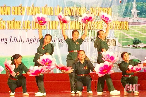 TX Hồng Lĩnh gặp mặt 300 cựu TNXP nhân ngày truyền thống