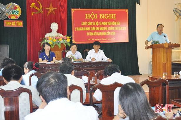 Nông dân Hà Tĩnh đóng góp 15 tỷ đồng xây dựng nông thôn mới
