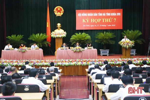 HĐND tỉnh Hà Tĩnh bế mạc kỳ họp thứ 7, thông qua các nghị quyết quan trọng