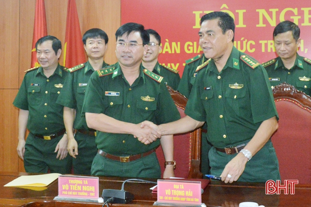 Bàn giao chức trách, nhiệm vụ Chỉ huy trưởng BĐBP Hà Tĩnh