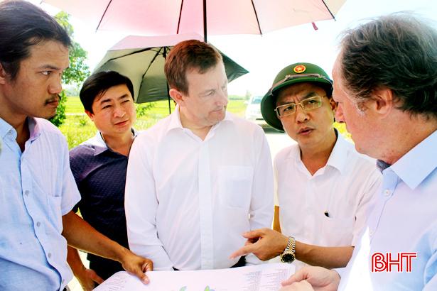 Thạch Hà nỗ lực khởi động dự án cải thiện hạ tầng đô thị