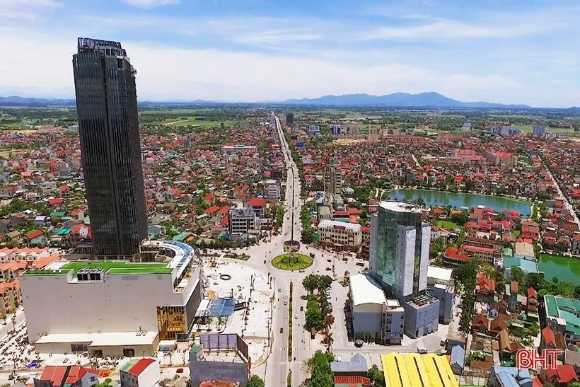 Trình Bộ Xây dựng thẩm định Đề án công nhận TP Hà Tĩnh là đô thị loại II