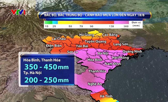 Bão số 4 đổ bộ Thanh Hóa, vùng biển Hà Tĩnh có mưa vừa đến mưa to