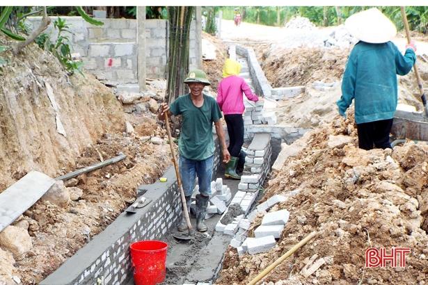 Xây dựng nông thôn mới ở Sơn Hàm: Khi mỗi người dân là một thợ xây lành nghề