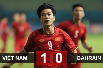 Olympic Việt Nam 1-0 Olympic Bahrain: Việt Nam lần đầu vào tứ kết ASIAD