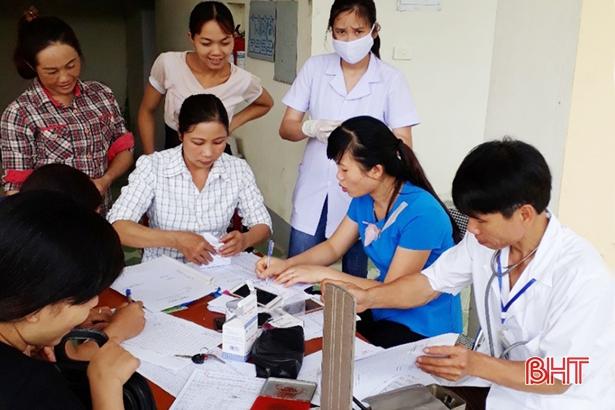 Đi trước một bước, 100% người dân Vũ Quang được tạo lập hồ sơ sức khỏe
