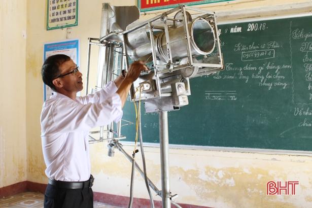 """Sáng chế ghi danh """"Sách vàng sáng tạo Việt Nam"""" của thầy giáo làng Hà Tĩnh"""