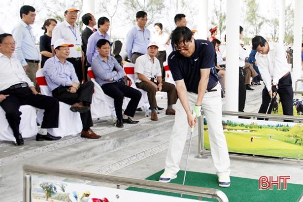 Đề nghị Bộ KH&ĐT bổ sung quy hoạch đầu tư 2 sân golf ở Hà Tĩnh